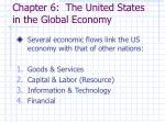 chapter 6 the united states in the global economy