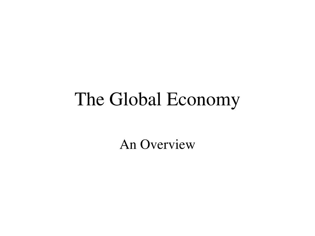 the global economy l.
