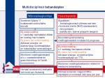 multidisciplinair behandelplan