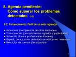 8 agenda pendiente c mo superar los problemas detectados 2 2