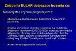 zalecenia eular dotycz ce leczenia rzs7