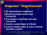 empresa organizaci n1