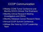 ccop communication