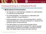 communicating in a globalized world5