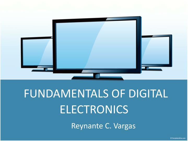 fundamentals of digital electronics n.