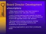 board director development1