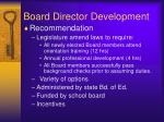 board director development2
