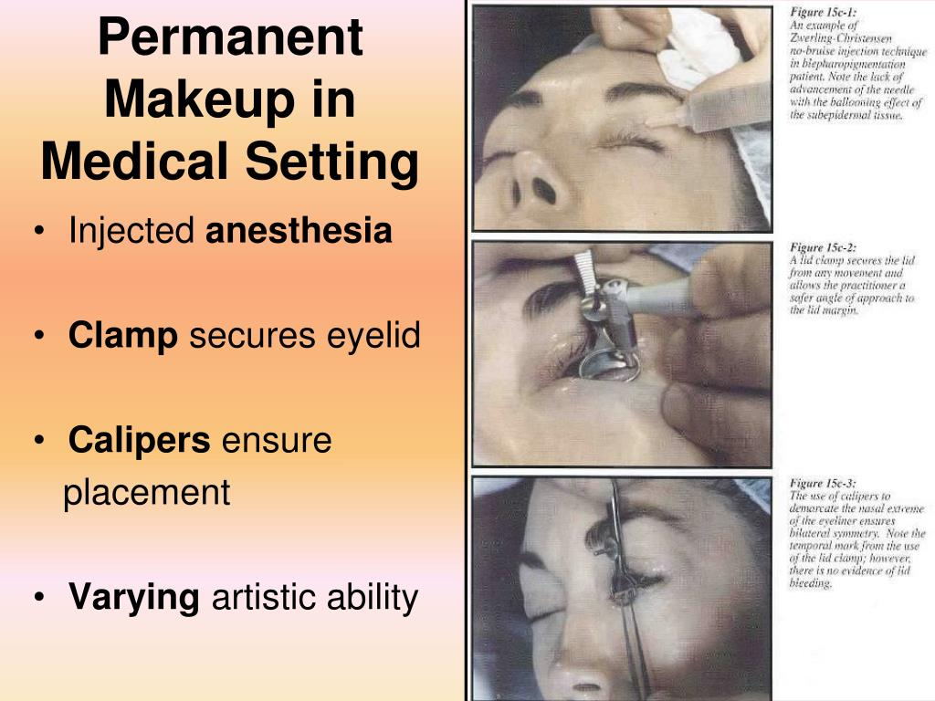 Permanent Makeup in Medical Setting