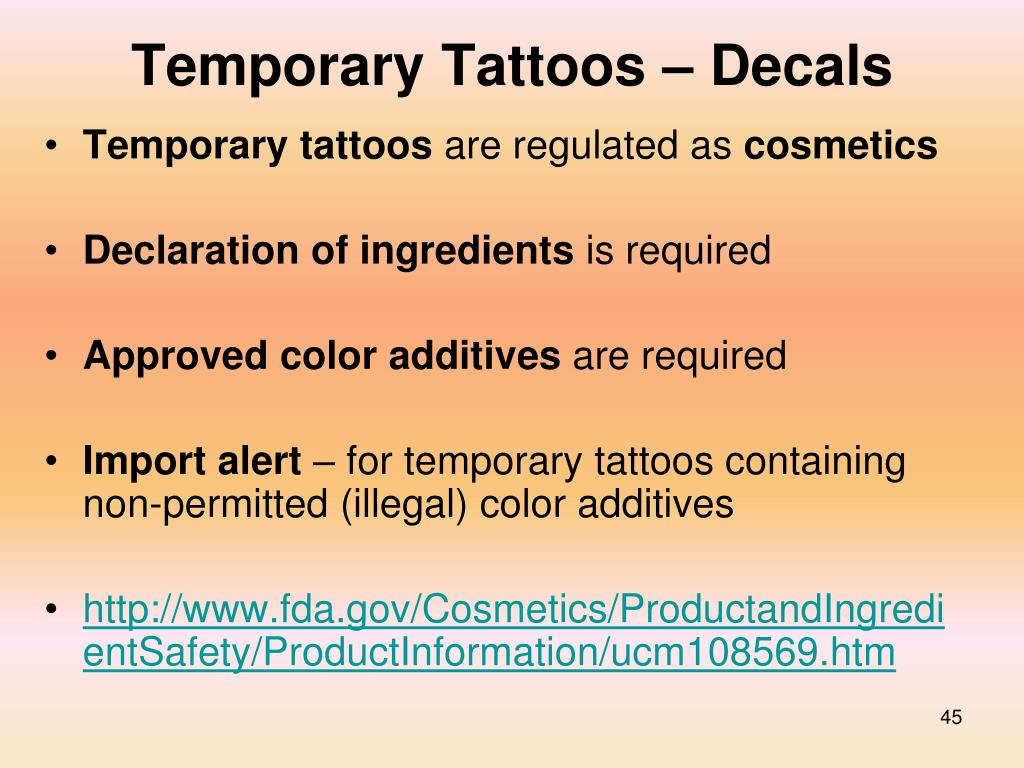 Temporary Tattoos – Decals