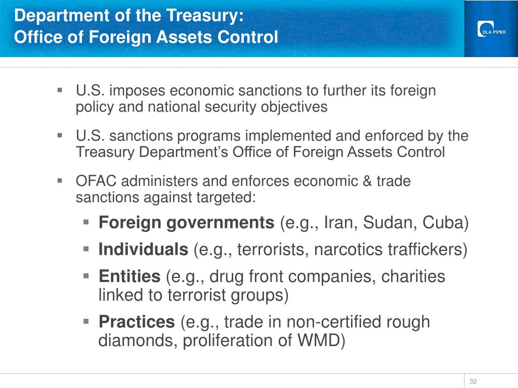 Department of the Treasury: