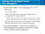 extraterritorial export laws the reexport