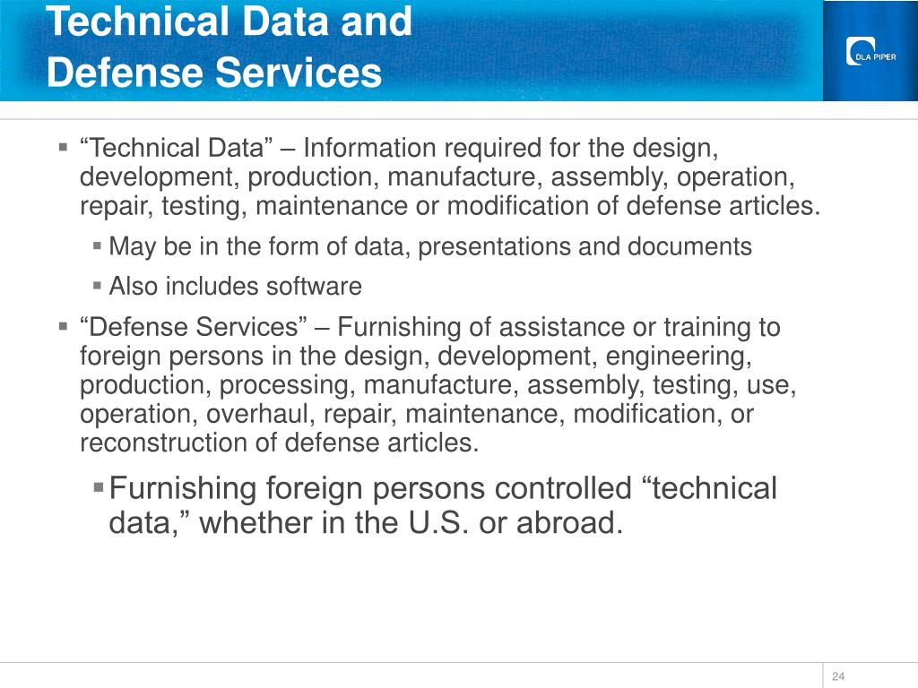 Technical Data and