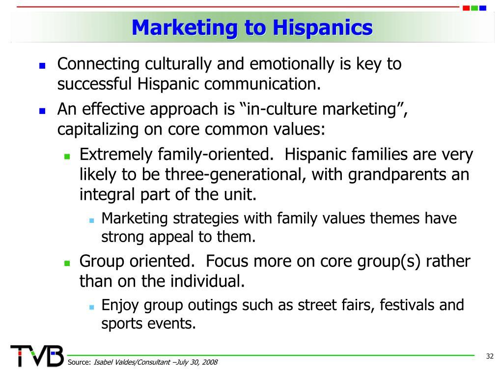 hispanic family values essay