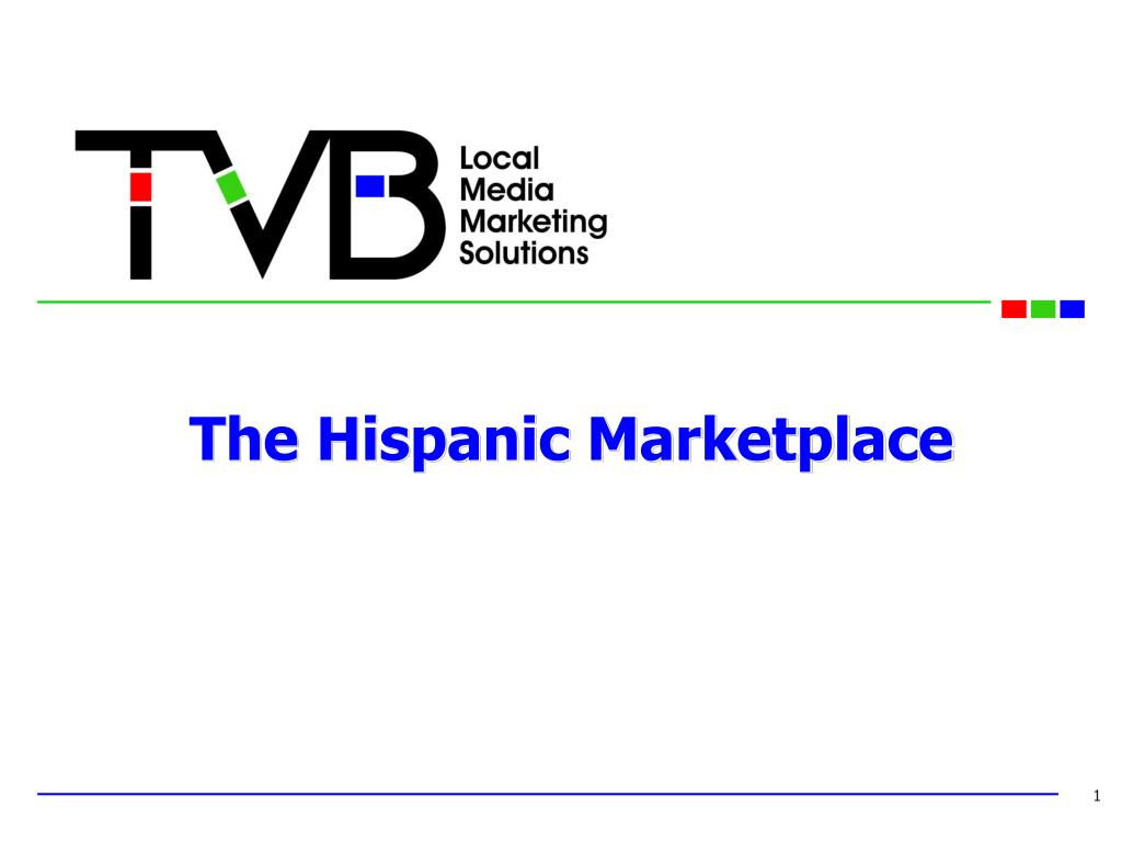 the hispanic marketplace l.