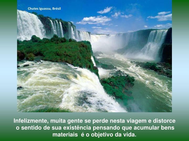 Chutes Iguassu, Brésil