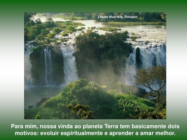 Chutes Blue Nile, Éthiopie