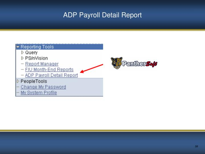 ADP Payroll Detail Report