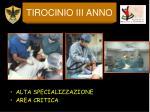 tirocinio iii anno