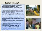 sector infancia