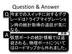 question answer6