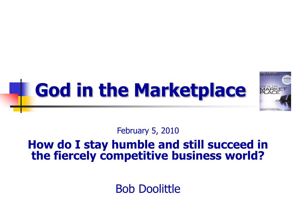 god in the marketplace l.