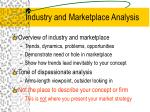 industry and marketplace analysis5
