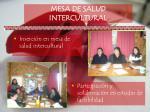 mesa de salud intercultural
