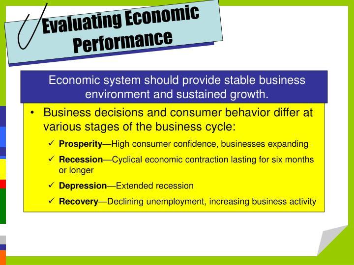 Evaluating Economic