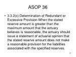 asop 36