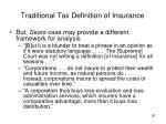 traditional tax definition of insurance1