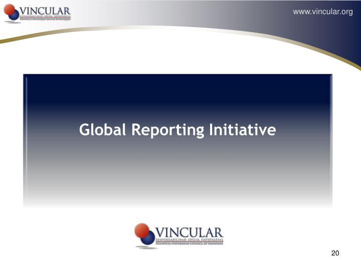 Global Reporting Initiative