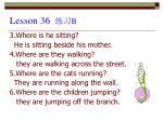 lesson 36 b