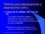 pol ticas para adjudicaciones y asignaciones cont7