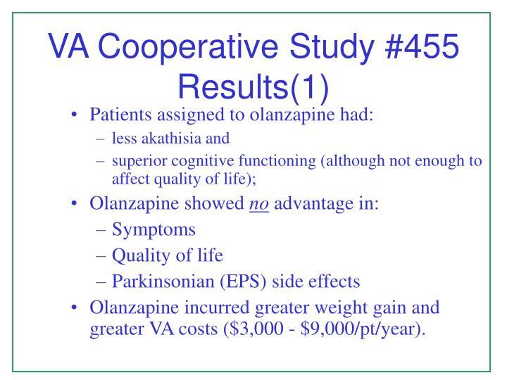 Va cooperative study 455 results 1