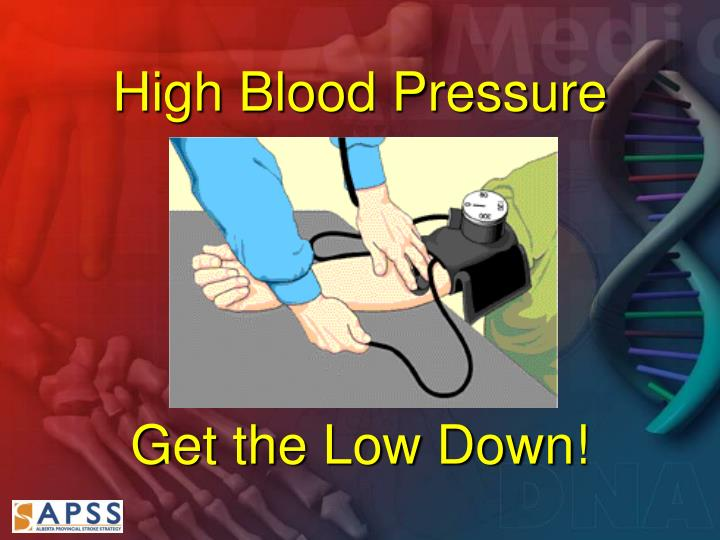 High blood pressure get the low down