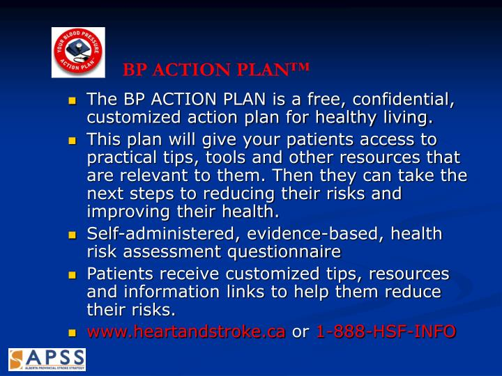 BP ACTION PLAN™