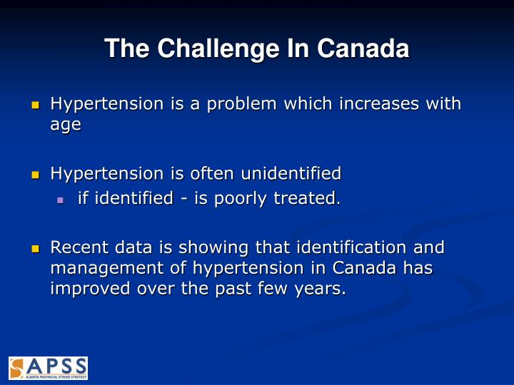 The Challenge In Canada