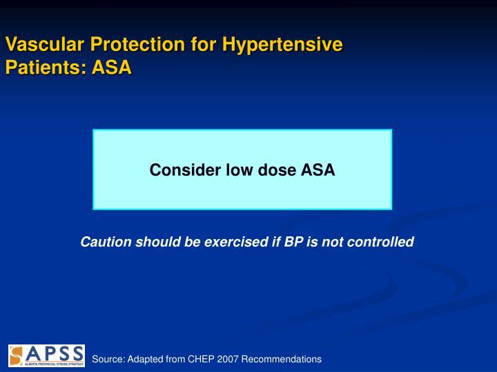Vascular Protection for Hypertensive