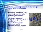 klju ne kompetencije za cjelo ivotno u enje europski okvir lisabon 2000