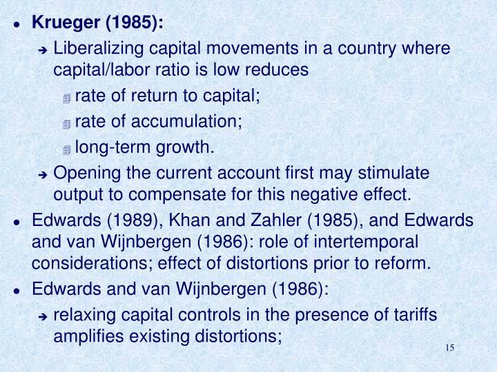 Krueger (1985):