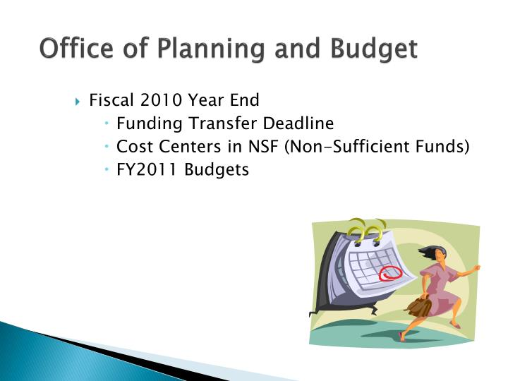 Office of Planning and Budget