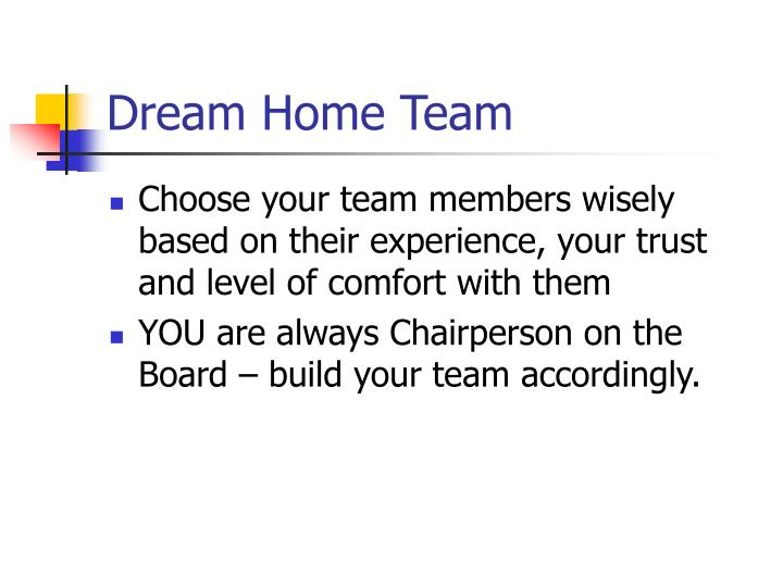 Dream Home Team