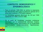contexto demogr fico y epidemiol gico1