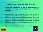 resultados gestion sbs3