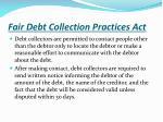 fair debt collection practices act1