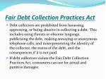 fair debt collection practices act2