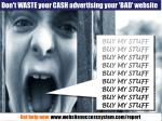 don t waste your cash advertising your bad website