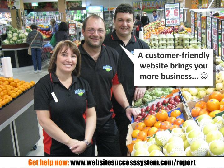 A customer-friendly
