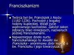 franciszkanizm
