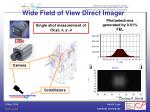 wide field of view direct imager